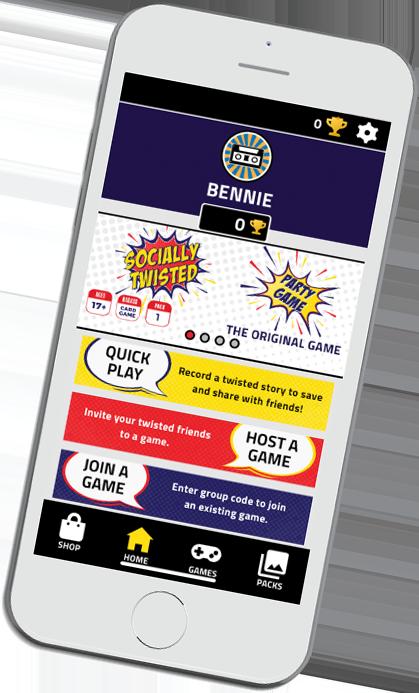 phone app graphic